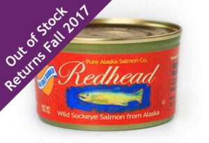 Redhead Salmon No Salt - Out of Stock Until Fall 2017