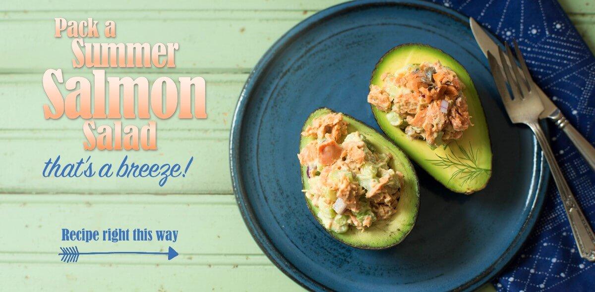 Pack a Summer Salmon Salad