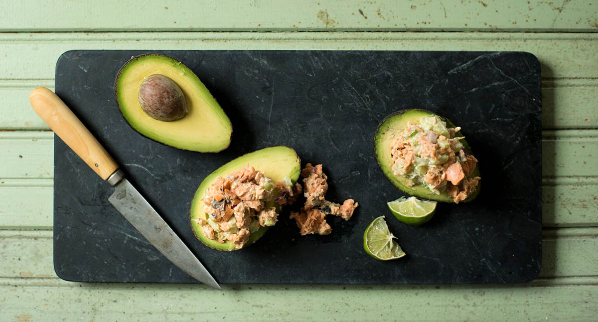 Salmon and Avocados