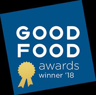 Good Food Award Winner 2018