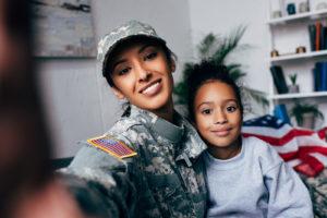 Soldier Family Selfie
